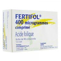 FERTIFOL 400 µg Cpr Plq/90 à AMBARÈS-ET-LAGRAVE